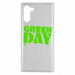 Чехол для Samsung Note 10 Green Day