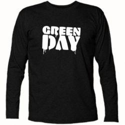 Футболка с длинным рукавом Green Day - FatLine