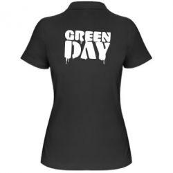 Женская футболка поло Green Day - FatLine