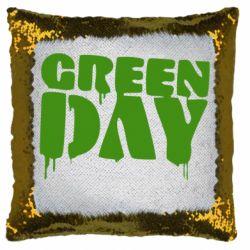 Подушка-хамелеон Green Day
