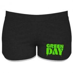 Женские шорты Green Day - FatLine