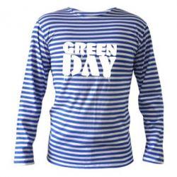 Тельняшка с длинным рукавом Green Day - FatLine