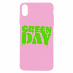 Чехол для iPhone X/Xs Green Day