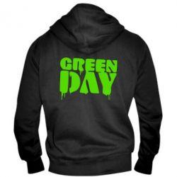 Мужская толстовка на молнии Green Day - FatLine
