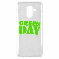Чехол для Samsung A6+ 2018 Green Day