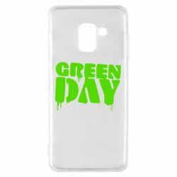 Чехол для Samsung A8 2018 Green Day