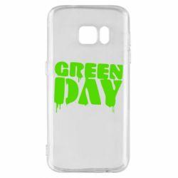 Чехол для Samsung S7 Green Day