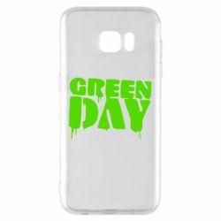 Чехол для Samsung S7 EDGE Green Day