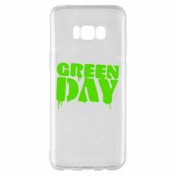 Чехол для Samsung S8+ Green Day
