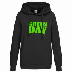 Женская толстовка Green Day - FatLine