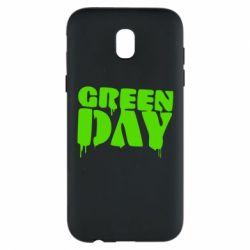 Чехол для Samsung J5 2017 Green Day