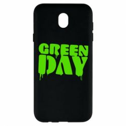 Чехол для Samsung J7 2017 Green Day