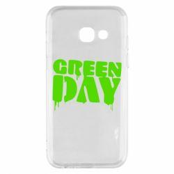 Чехол для Samsung A3 2017 Green Day