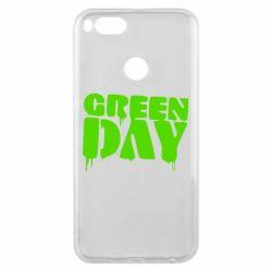 Чехол для Xiaomi Mi A1 Green Day