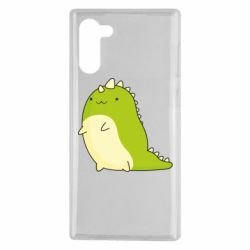 Чохол для Samsung Note 10 Green dinosaur