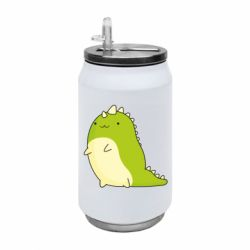 Термобанка 350ml Green dinosaur