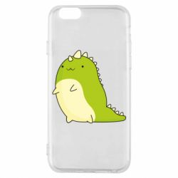 Чохол для iPhone 6/6S Green dinosaur