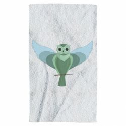 Рушник Green graphic owl on a branch