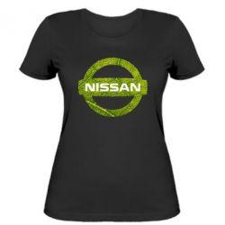 Женская футболка Green Line Nissan - FatLine
