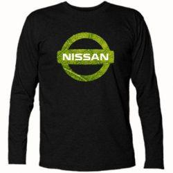 Футболка с длинным рукавом Green Line Nissan - FatLine