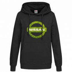 Женская толстовка Green Line Nissan - FatLine