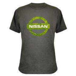 Камуфляжная футболка Green Line Nissan - FatLine