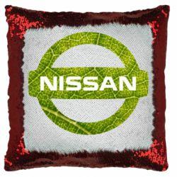 Подушка-хамелеон Green Line Nissan