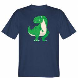 Чоловіча футболка Green little dinosaur