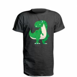 Подовжена футболка Green little dinosaur
