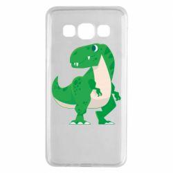 Чохол для Samsung A3 2015 Green little dinosaur