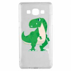Чохол для Samsung A5 2015 Green little dinosaur