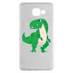 Чохол для Samsung A5 2016 Green little dinosaur