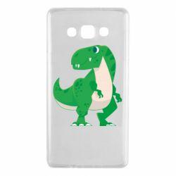 Чохол для Samsung A7 2015 Green little dinosaur