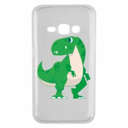 Чохол для Samsung J1 2016 Green little dinosaur