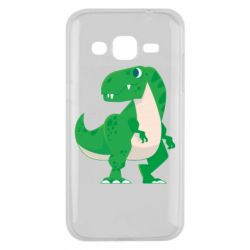 Чохол для Samsung J2 2015 Green little dinosaur
