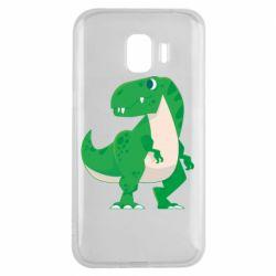 Чохол для Samsung J2 2018 Green little dinosaur