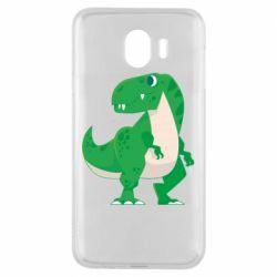 Чохол для Samsung J4 Green little dinosaur
