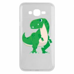 Чохол для Samsung J7 2015 Green little dinosaur