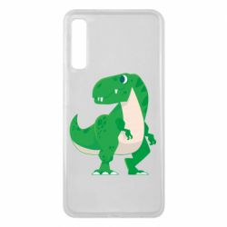 Чохол для Samsung A7 2018 Green little dinosaur