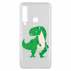 Чохол для Samsung A9 2018 Green little dinosaur