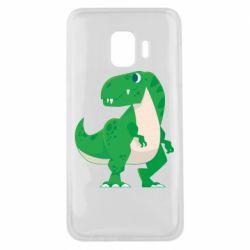 Чохол для Samsung J2 Core Green little dinosaur