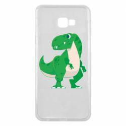 Чохол для Samsung J4 Plus 2018 Green little dinosaur