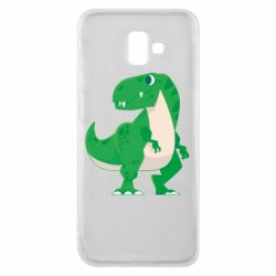 Чохол для Samsung J6 Plus 2018 Green little dinosaur
