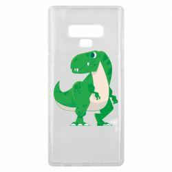 Чохол для Samsung Note 9 Green little dinosaur