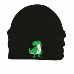 Шапка на флісі Green little dinosaur