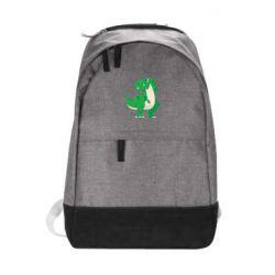 Рюкзак міський Green little dinosaur