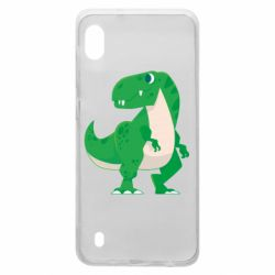 Чохол для Samsung A10 Green little dinosaur