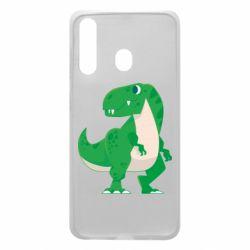 Чохол для Samsung A60 Green little dinosaur