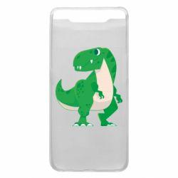 Чохол для Samsung A80 Green little dinosaur