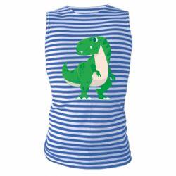 Майка-тільняшка Green little dinosaur